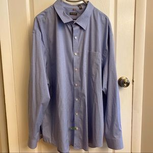 Van Heusen men's button down shirt